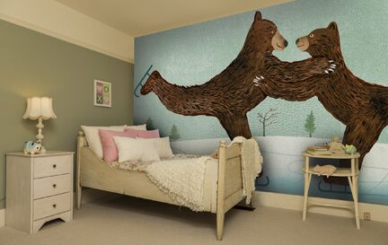 Ellen Weinstein Wall Murals Wallpaper