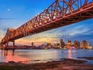 Bridge Over the Mississippi River wall mural thumbnail