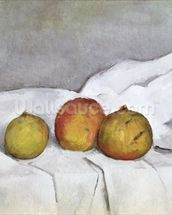 Fruit on a Cloth, c.1890 (oil on canvas) wallpaper mural thumbnail