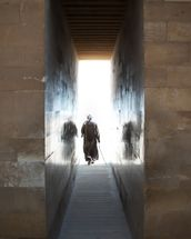 Walking into the Light wall mural thumbnail