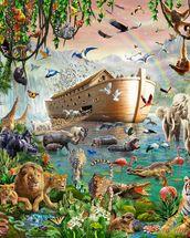 noah s ark jumbo wall mural noah s ark jumbo wallpaper wall mural jumbo elephant and baby in savannah elephant
