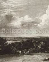 Summerland, engraved by David Lucas (1802-81) (mezzotint) wall mural thumbnail