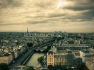 Paris Skyline from Notre Dame wall mural thumbnail