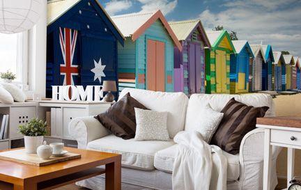 Melbourne Wallpaper Wall Murals Wallsauce Au