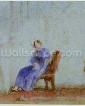 Spilt Milk, c.1828 (w/c and gouache) wall mural thumbnail