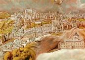 Apotheosis of Napoleon I, detail of the chariot of Napoleon, 1853 (oil on canvas) wall mural thumbnail