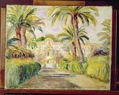 The Palm Trees, 1919 mural wallpaper thumbnail