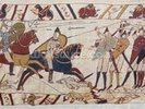 Bayeux tapestry - Norman invasion of England wall mural thumbnail