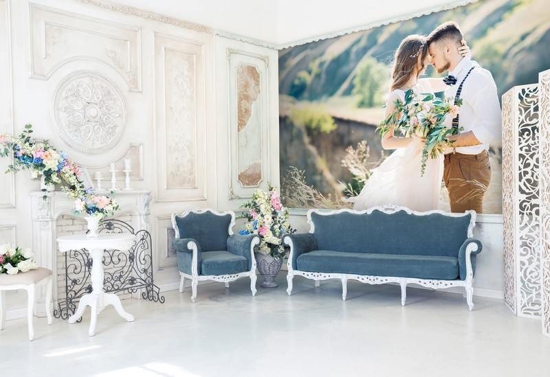 wedding-wallpaper-in-bedroom