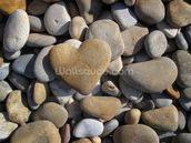 Pebble Heart mural wallpaper thumbnail