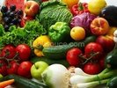 Fruit and Vegetable Assortment wall mural thumbnail