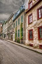Stone Town Houses wall mural thumbnail