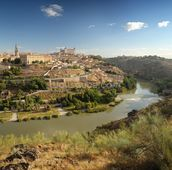 View of Toledo wall mural thumbnail