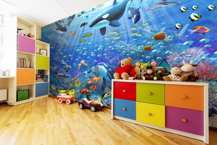 underwater_wallpaper_in_kids_bedroom