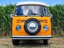 Orange VW Camper wall mural thumbnail