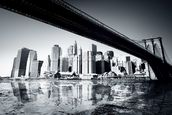New York Black & White mural wallpaper thumbnail