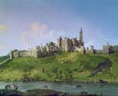 Alnwick Castle mural wallpaper thumbnail