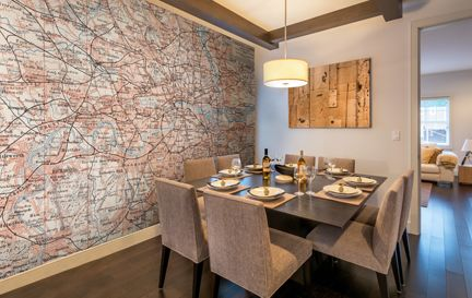 Map Wallpaper & Wall Murals | Wallsauce USA