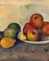Still life with Apples, c.1890 (oil on canvas) wall mural thumbnail
