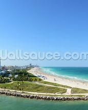 South Miami Beach wallpaper mural thumbnail