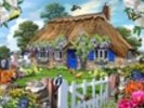 Wisteria Cottage wall mural thumbnail