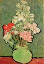 Bouquet of flowers, 1890 (oil on canvas) mural wallpaper thumbnail