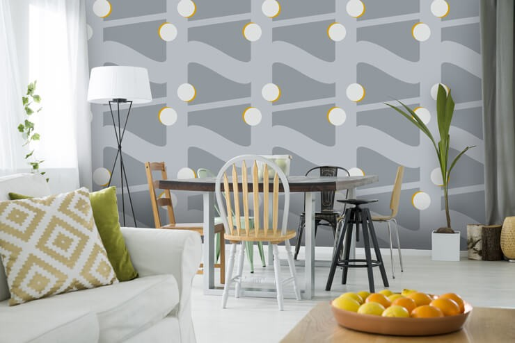 retro-wallpaper-in-dining-room