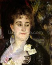 Madame Georges Charpentier (1848-1904), c.1876-7 (oil on canvas) mural wallpaper thumbnail