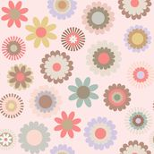 Floral Frenzy mural wallpaper thumbnail