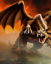 Dragon Attack wall mural thumbnail