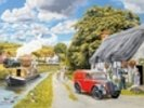 Parcel For Canal Cottage wall mural thumbnail