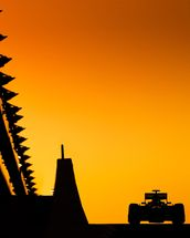 Abu Dhabi Grand Prix at Sunset, 2012 wall mural thumbnail
