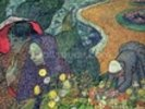 Ladies of Arles (Memories of the Garden at Etten), 1888 (oil on canvas) wall mural thumbnail