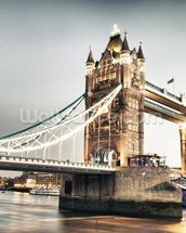 Tower Bridge wallpaper mural thumbnail