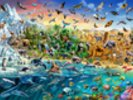 Endangered Species wall mural thumbnail