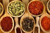 Different Spices wallpaper mural thumbnail
