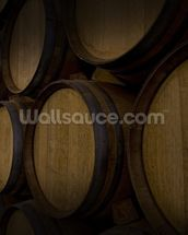 Wine Barrels mural wallpaper thumbnail