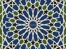 Arabesque seamless pattern wall mural thumbnail