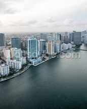 Miami From The Air mural wallpaper thumbnail