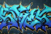 Graffiti mural wallpaper thumbnail