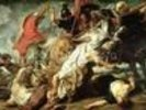 The Lion Hunt, 1621 (oil on canvas) wall mural thumbnail