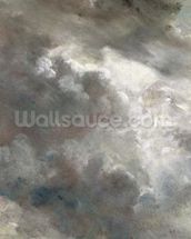 Cloud Study, 1821 (oil on paper laid down on paper) mural wallpaper thumbnail