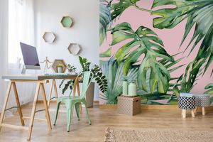 Our Favourite Palm Print Wallpaper Designs