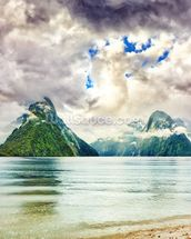 Milford Sound wallpaper mural thumbnail