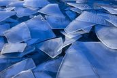 Fractured Surface Ice Of Mendenhall Lake wall mural thumbnail