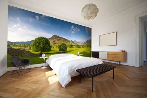 lake district wall mural