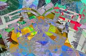Expressive Colours 2 wall mural thumbnail