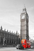 Big Ben and Houses of Parliament wallpaper mural thumbnail