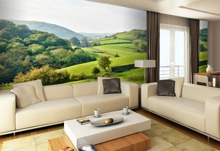landscape wallpaper amp wall murals wallsauce com waterfall and rivers photo wallpaper landscape wall mural