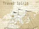 Vintage Travel Spirit wall mural thumbnail